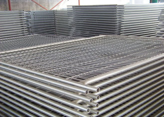 China New Zealand Metal Construction Fence , Temporary Fencing For Construction Site supplier