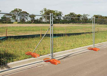 China 50X100MM Removable Building Site Security Fencing Panels For Major Public supplier