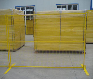 China Multi Color Temporary Metal Security Fencing Panels Protect Private Assets supplier