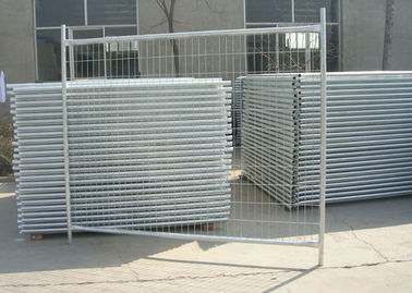 China Galvanized Steel Pipe Builders Temporary Fencing For Construction Site supplier