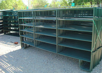 China Powder Coated Horse Yard Panels Pre Hot Dipped Galvanized Steel Pipe Material supplier