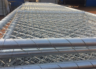 China Customizable Chain Link Fence Gate 75mm X 75mm Wire Mesh For Sheep Yard supplier