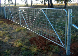 China Livestock Chain Link Fence Gate New Zealand High Tensile And Light Weight supplier