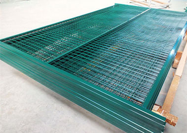 China Canada Removable Temporary Fence Powder Coating Surface Treatment With Flat Feet supplier