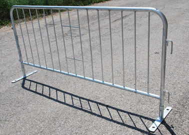 China Traffic Road Safety Pedestrian Crowd Control Barriers Heavy Duty Galvanized supplier