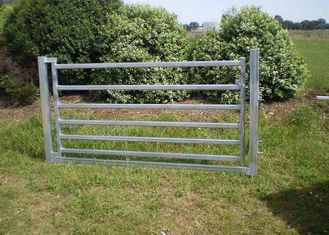 China Portable Cattle Yard Panels Corral Sheep Panel 50X50MM Vertical Tube 4FT X 8FT supplier
