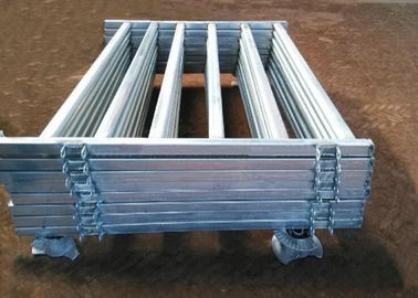 China Pre Hot Dipped Galvanized Sheep Cattle Panels Livestock Fence Panels 5Rails With Oval Tube 30X60MM supplier