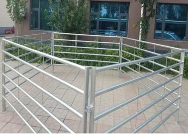 China 1.5 X 2.1 M Cattle Yard Panels , Metal Cattle Panels Galvanized / Pvc Coated For Farm supplier