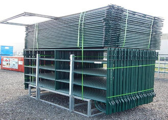 China Lightweight Safety Round Portable Cattle Pens Fully Welded Post Brackets supplier