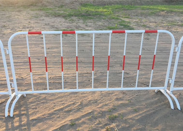 China Crowd Control Barriers Fencing 1.0 X2.0 Meter With Reflective Band supplier