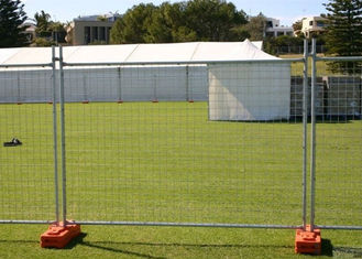 China Steel Austrilia Portable Temporary Fencing 2.4x2.1 Meter Customized supplier