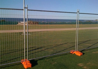 China Welded Australian Temporary Fencing Hot Galvanized Portable Temporary Site Fencing supplier