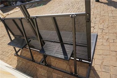 China High Security Metal Crowd Control Barriers Lightweight For Outdoor Event supplier