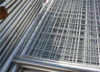 China Contruction protection steel Australian temporary fencing with round pipe supplier