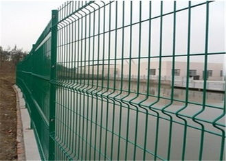 China Anti climb construction steel welded mesh fencing durable and high security supplier