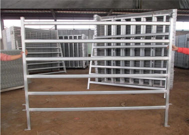 China Flexible temporary cattle yard panels for horse cattle sheep 1.8*2.1m steel pipe supplier
