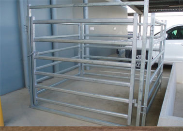China Farm Agriculture Welded Heavy Duty Cattle Panels 6 Bar Horse Gate Panels supplier