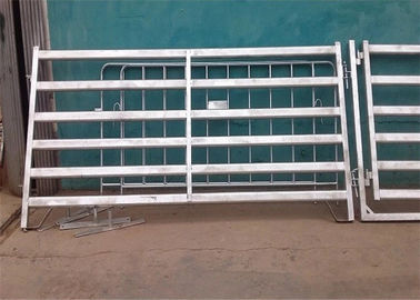 China Round tube 1.8*2.1m metal portable cattle yards removable and security For Farm supplier