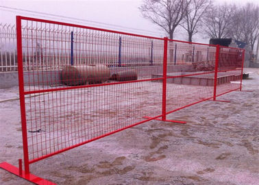 China Decorative galvanized wire mesh fence panels for playground with square pipe supplier