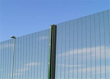 China Galvanized 358 security mesh fence panels or anti cut 358 welded mesh supplier