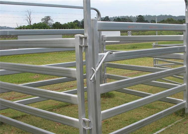 China Livestock Equipment Cattle Yard Panel Height 1.8m Low Carbon Steel Corral Fence supplier