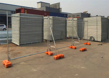 China Public Safety Welded Australian Temporary Fencing PVC Coated For Sport Field supplier