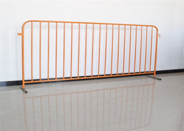 China Stainless Steel Temporary Fence Crowd Control Barriers For Portable Pedestrian supplier