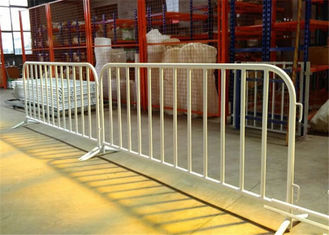 China Construction Galvanized Crowd Control Barrier For Outdoor Events Barricade Fence supplier