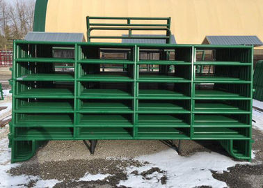 China Portable heavy duty 1.8m metal cattle panels livestock horse for farm fence supplier
