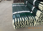 China Heavy Duty Green Metal T Post / Farm Fence Posts Bituminous Painted Surface factory