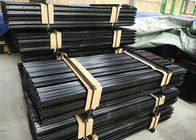 China Black Painted Y Fence Post / Metal Fence Posts For Australia , New Zealand factory
