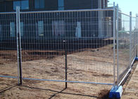 China Sporting Events Builders Temporary Fencing , Portable Construction Fence company