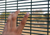 China PVC Coated Surface 358 Security Mesh Panels 2.1 X 2.4 Meter For Prison Fence company