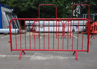 China 1.1x2.0m Metal Safety Crowd Control Barriers For Sports / Concerts factory