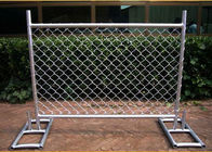 Cross Brace Chain Link Builders Security Fencing Hot Galvanized Surface