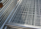 Contruction protection steel Australian temporary fencing with round pipe
