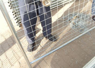 China Outdoor commercial metal galvanized Australia temporary fencing for safety factory
