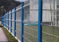 China Eco friendly reinforcement galvanised welded mesh fencing wih square hole factory