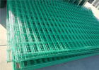 High performance 2*2 welded wire mesh fence panels for anti climb square hole shape