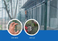 Small hole high 358 security fence steel metal security mesh fencing