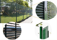 Stong tension anti climb cut 358 security mesh fencing for prison military