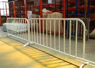Construction Galvanized Crowd Control Barrier For Outdoor Events Barricade Fence