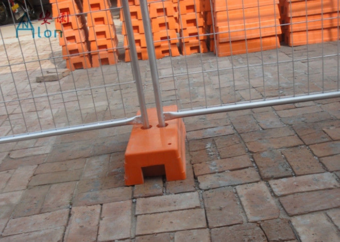 Standard removable temporary fencing panel 30mm 50mm wire diameter greentooth Gallery