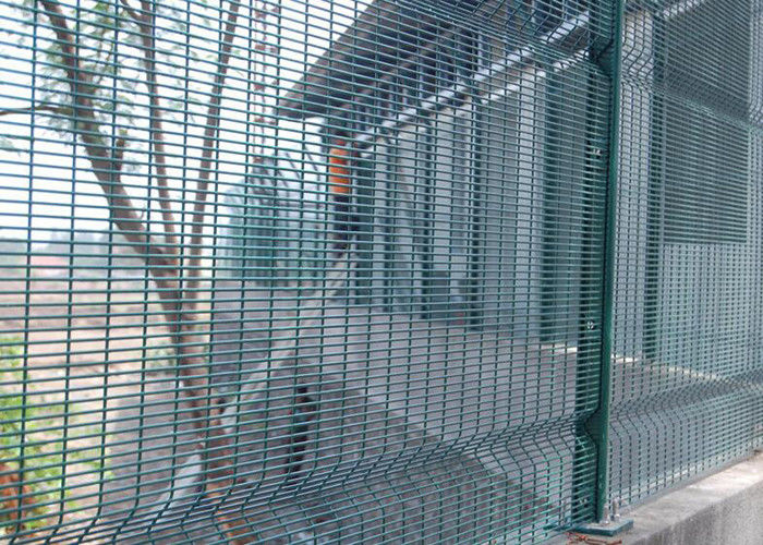 Weld Mesh Security Fencing / Security Mesh Fence Panels For ...