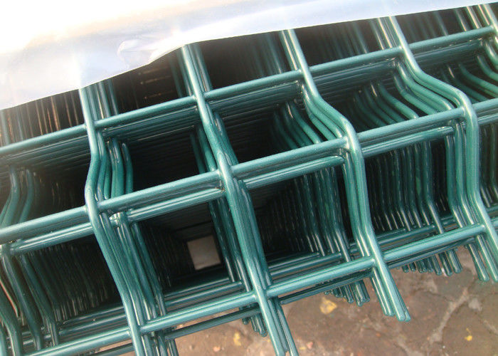 Security Triangle Weld Mesh Fence Panels 60X100 MM With 5 Mm Diameter