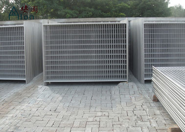 China Outdoor Steel Temporary Fencing / Site Fence Panels For Sporting Safety Events factory