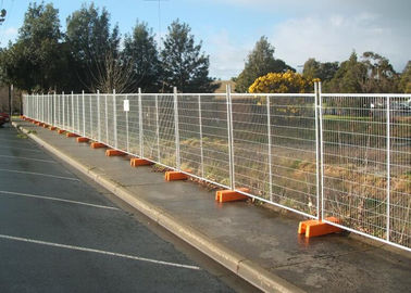 China Interlocking Removable Steel Temporary Fencing , Portable Fence Panels factory