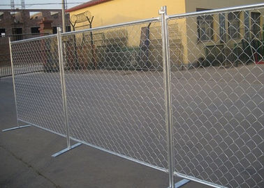 China Removable Chain Link Fence Panels Safe And Flexible Protects Valuable Assets factory