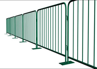 Heavy Duty Portable Crowd Barriers / Crowd Control Gates For Event Security
