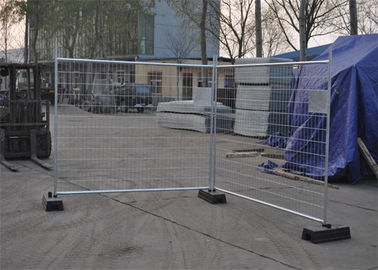 China Construction Removable Temporary Fencing , Temporary Chain Link Fence Panels factory